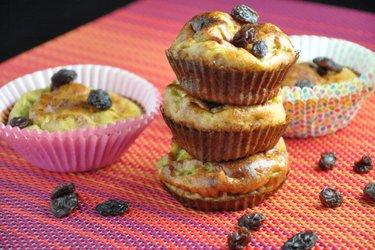 Einfache Fitness-Bananen-Muffins (Glutenfrei, Zuckerfrei)