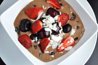 Gesundes Kakao-Eis (Glutenfrei, Zuckerfrei)