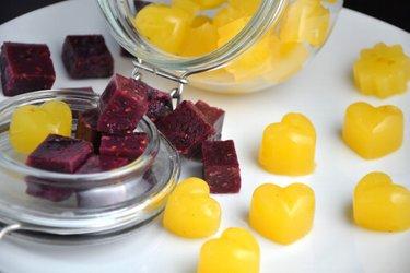 Gesunde Hausgemachte Gelee-Bonbons