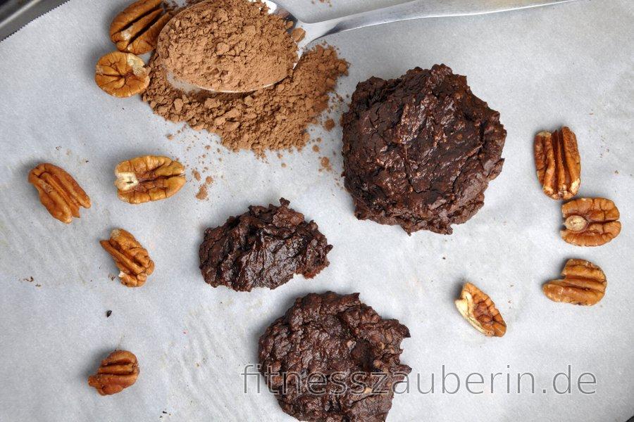 Mehlfreie Avocado-Kakao-Kekse