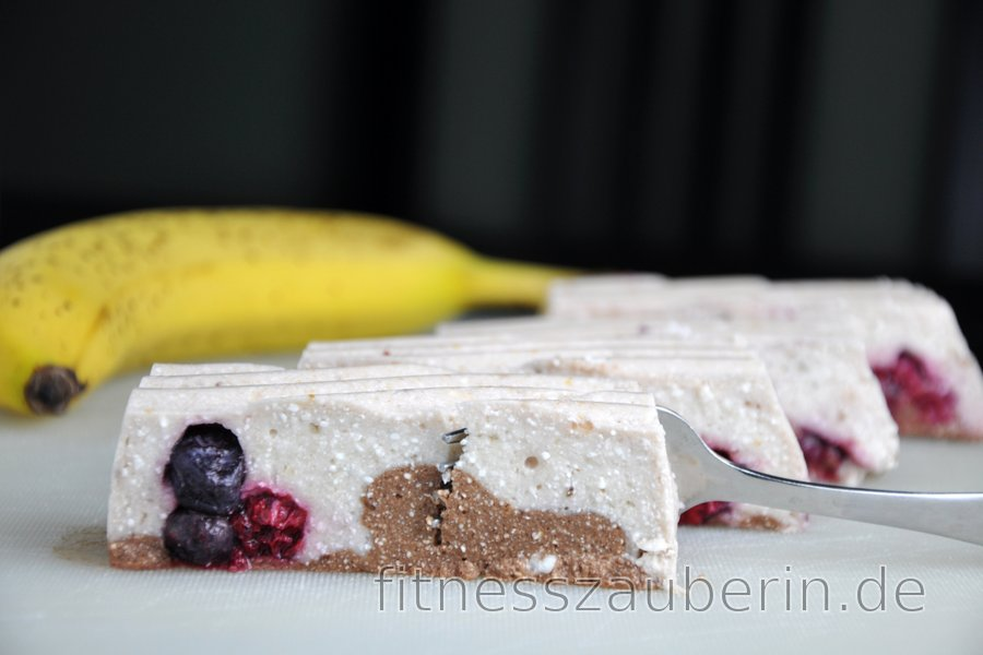 No-Bake-Bananenquark-Dessert (Glutenfrei)