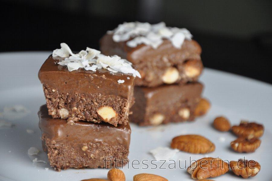 No-Bake-Kakaowürfel (Glutenfrei)