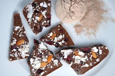 """Zuckerfreie Protein-""""Schokolade"""""""