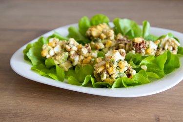 Der beste gesunde Avocado-Eiersalat