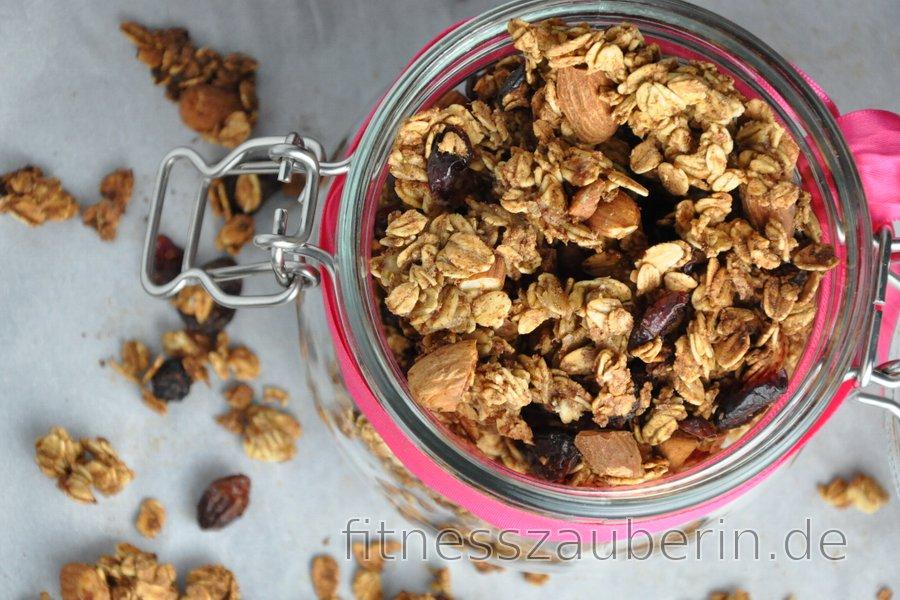 Knusper-Müsli ohne Fett- und Zuckerzusatz