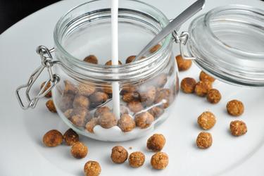 Müslikugeln (mit Vanille/Kakao)