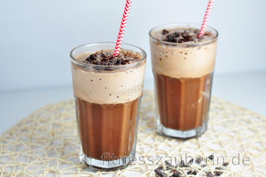 Erfrischender Mokka-Protein-Shake