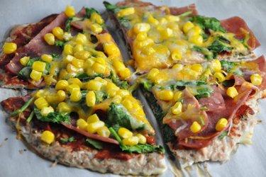 Gesunde Thunfischpizza