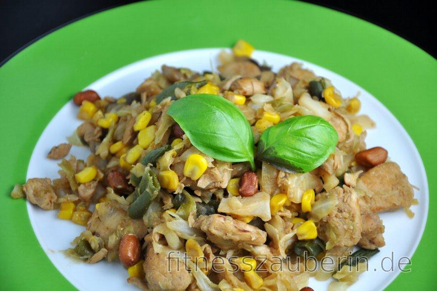 Hühnerbrust auf chinesische Art