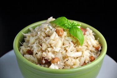 Kokos-Blumenkohl-Risotto ohne Reis