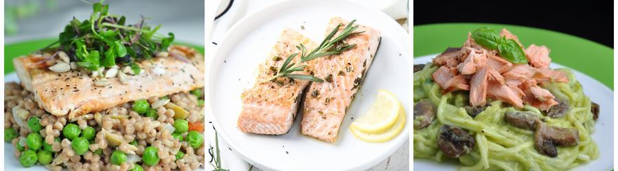 Rezepte für gesunden Lachssalat