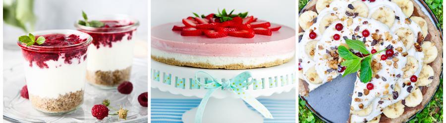 Gesunde zuckerfreie Dessertrezepte