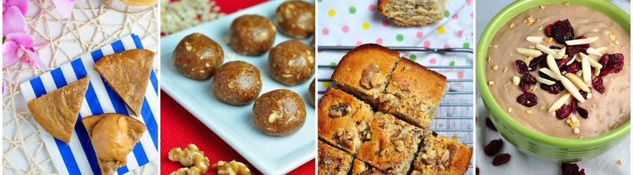 Gesunde Dessertrezepte mit Erdnussbutter