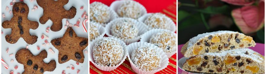 Gesunde zuckerfreie Feiertags- und Weihnachtsrezepte