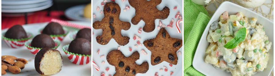 Gesunde und Glutenfreie Feiertags- und Weihnachtsrezepte
