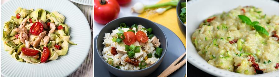 Proteinreiche Zucchini-Rezepte