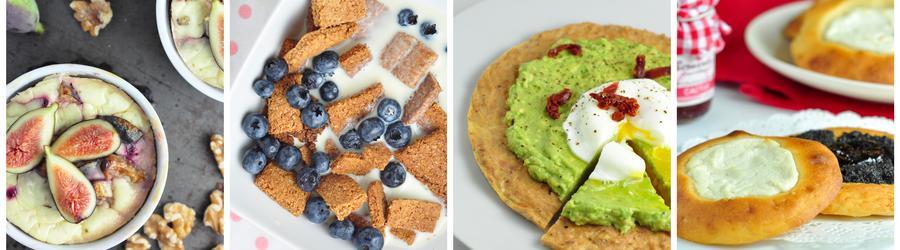 Gesunde Frühstücks-Rezepte