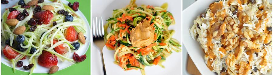 Gesunde vegane Zucchini-Rezepte