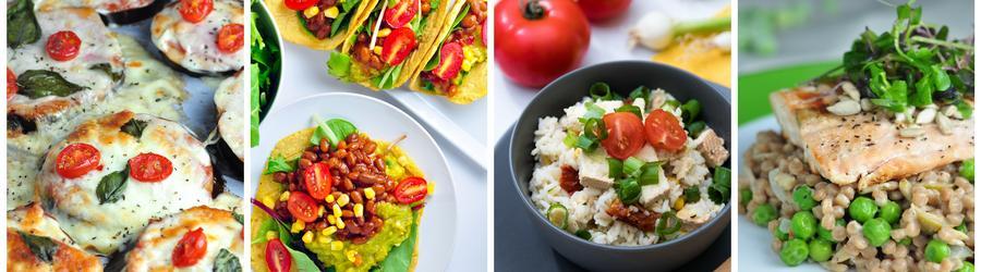 Einfaches & gesunde Rezepte für Mittag- und Abendessen