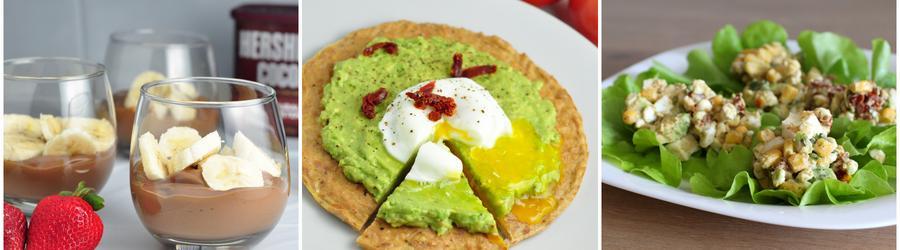 Avocado-Rezepte mit hohem Proteingehalt
