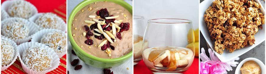 Erdnussbutter-Rezepte mit Proteinpulver