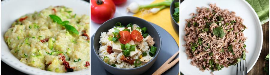 Proteinreiche Reisrezepte