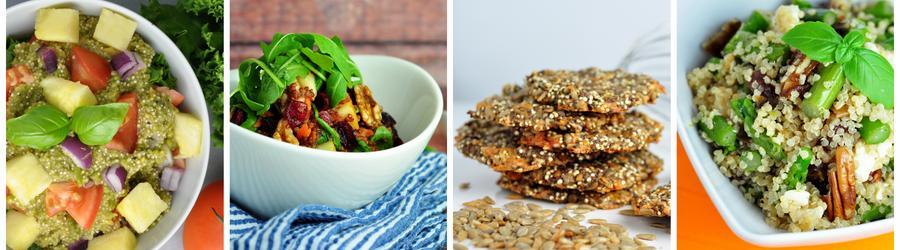 Gesunde vegane Quinoa-Rezepte