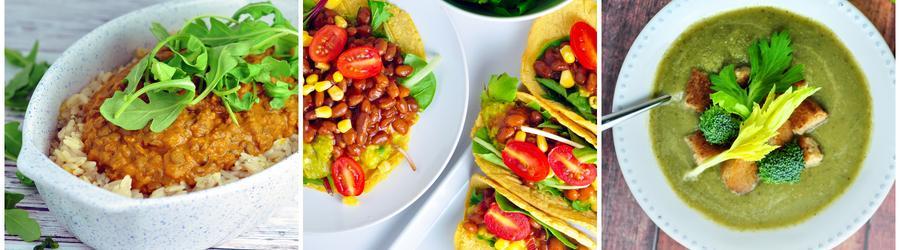 Gesunde vegane Gemüserezepte