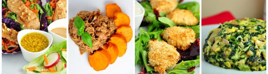 Gesunde und  einfache Hühnchenrezepte