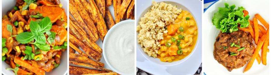Gesunde Süßkartoffelrezepte