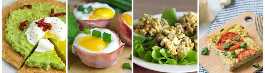 Einfache & gesunde Eierrezepte