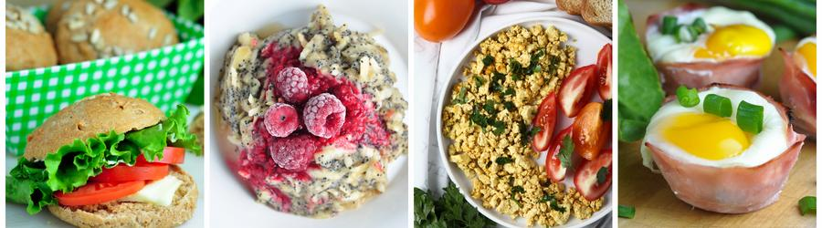 Gesunde und milchfreie Frühstücksrezepte