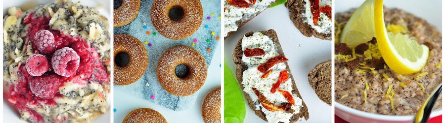 Gesunde und Vegane Frühstücksrezepte