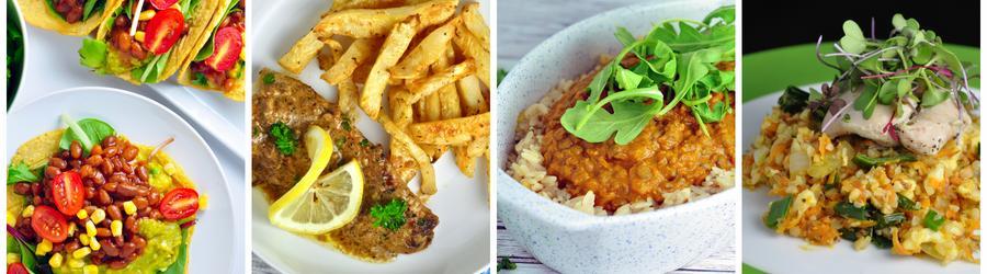 Gesunde und milchfreie Rezepte für Abend- und Mittagsessen