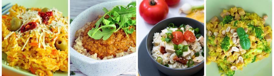 Gesunde Rezepte zum Abend- und Mittagessen mit Reis