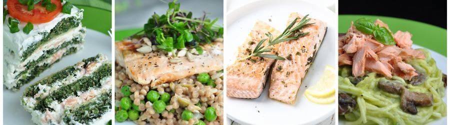 Gesunde Lachsrezepte zum Abend- und Mittagessen