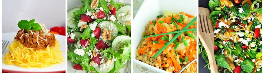 Gemüserezepte zum Abend-und Mittagsessen