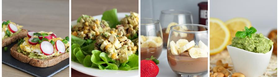 Rezepte für ein gesundes Avocadofrühstück
