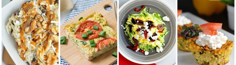 Gesunde Frühstücksrezepte mit Zucchini