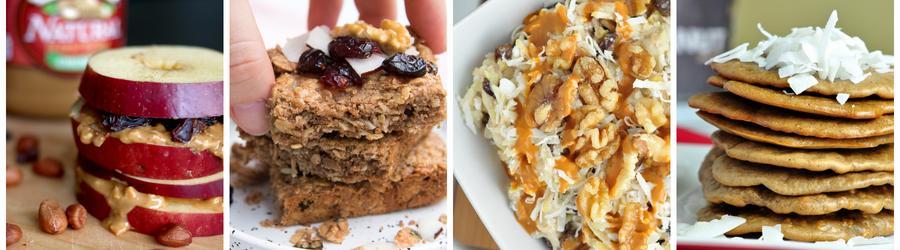 Gesunde Frühstücksrezepte mit Erdnussbutter