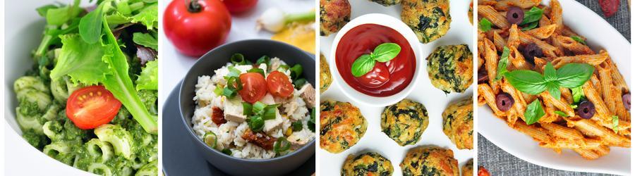 Gesunde vegetarische Rezepte