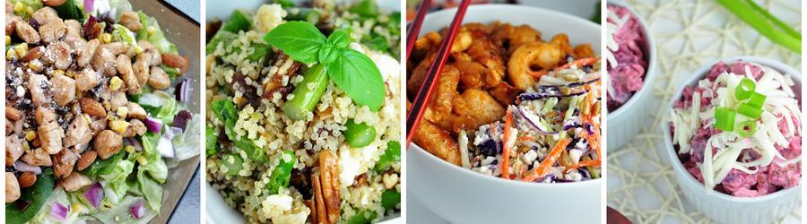 Rezepte für proteinreiche Salate