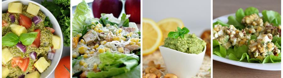 Gesunde Avocadosalat-Rezepte