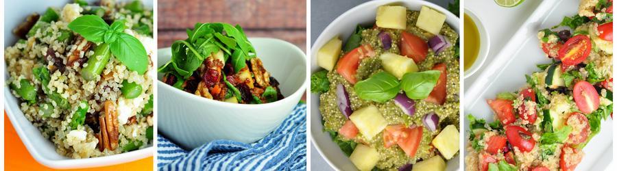 Gesunde Rezepte für Quinoa-Salat